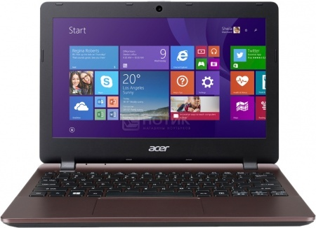 Ноутбук Acer Aspire E3-112-C22E (11.6 LED/ Celeron Dual Core N2840 2160MHz/ 2048Mb/ HDD 500Gb/ Intel HD Graphics 64Mb) MS Windows 8.1 (64-bit) [NX.MRPER.002] НОТИК 12890.000