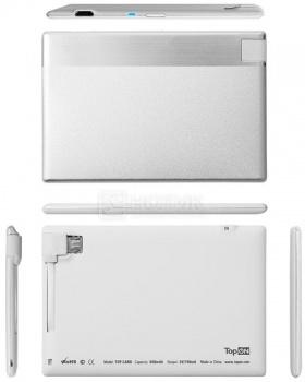 Внешняя аккумуляторная батарея TopON для iPhone/iPod TOP-CARD 850мАч Белый