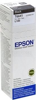 Картридж Epson T66414A для L100 L110 L120 L1300 L200 L210 L300 L350 L355 L550 70мл 250стр, Черный C13T66414A от Нотик
