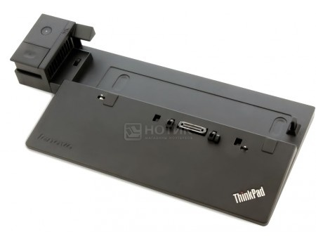 Док-станция для Lenovo ThinkPad Basic Dock (65 Вт, RJ-45,  3xUSB 2.0, 1xUSB 3.0, VGA) Черный 40A00065EU от Нотик