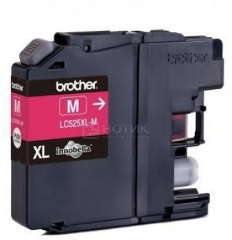 Картридж Brother LC-525XLM для DCP-J100 DCP-J105 MFC-J200 1300стр Пурпурный LC525XLM dcp j100 j100 j200 j105 original printhead for brother dcp j100 j105 mfc j200 j132 t700w t500w printers