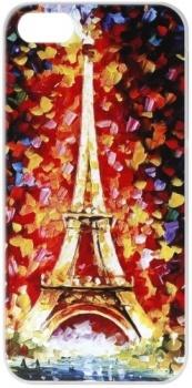 Чехол-накладка Anzo Акварель Paris для iPhone 6, Пластик, Разноцветный 1955-6F201