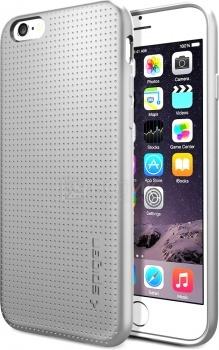 Чехол-накладка Spigen SGP для iPhone 6 Capsule SGP11020, Полиуретан, СерыйSpigen SGP<br>Чехол-накладка Spigen SGP для iPhone 6 Capsule SGP11020, Полиуретан, Серый<br>
