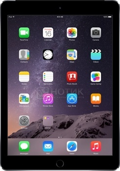 "Планшет Apple iPad Air 2 16Gb Wi-Fi (iOS/A8X 1500MHz/9.7"" (2048x1536)/2048Mb/16Gb/ ) [MGL12RU/A] от Нотик"