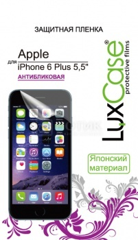 Защитная пленка LuxCase для Apple iPhone 6 Plus, Антибликовая 81201 luxcase защитная пленка для apple iphone 5 5s front