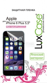 Защитная пленка LuxCase для Apple iPhone 6 Plus, Суперпрозрачная 81202 luxcase защитная пленка для apple iphone 5 5s front