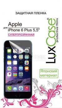 Защитная пленка LuxCase для Apple iPhone 6 Plus, Суперпрозрачная 81202