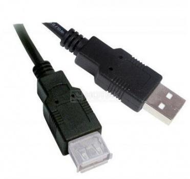 Кабель Sven USB 2.0 Am-Af 1.8м SV-OO456 Черный от Нотик