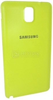 Задняя сменная крышка для Samsung N900 SAMSUNG ET-BN900SGEGRU Полиуретан, Лайм