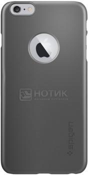 Чехол-накладка Spigen SGP для iPhone 6 Plus/iPhone 6s Plus Thin Fit A Case Gunmetal SGP10890 Полиуретан, Черный