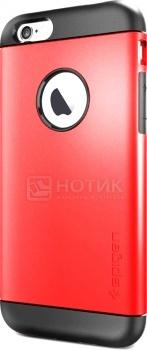 Чехол-накладка Spigen SGP для iPhone 6 Slim Armor Electric Red SGP10956 Полиуретан Красный от Нотик