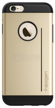 Чехол-накладка Spigen SGP для iPhone 6 Slim Armor S Gold SGP10961 Полиуретан, Золотистый от Нотик