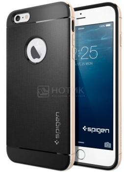 Фотография товара чехол-накладка Spigen SGP для iPhone 6 Plus/iPhone 6s Plus Neo Hybrid Gold SGP11071 Полиуретан, Золотистый (37160)