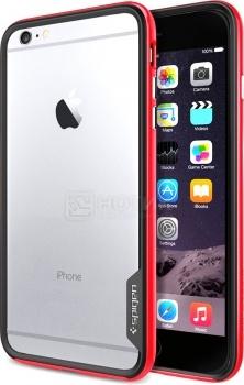Чехол-накладка Spigen SGP для iPhone 6 Plus Neo Hybrid Red SGP11073 Полиуретан, Красный