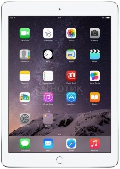 "Планшет Apple iPad Air 2 128Gb Wi-Fi (iOS/A8X 1500MHz/9.7"" (2048x1536)/2048Mb/128Gb/ ) [MGTY2RU/A] от Нотик"
