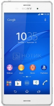 "Sony Xperia Z3 White (Android 4.4/MSM8974AC 2500MHz/5.2"" 1920x1080/3072Mb/16Gb/4G LTE ) [1289-5"