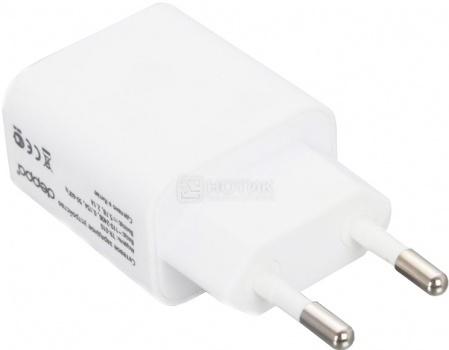 Зарядное устройство Deppa 11307 ULTRA, 2хUSB, 2.1A, Белый