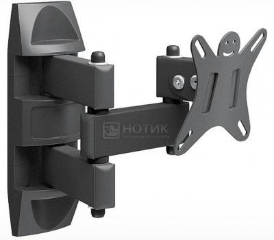 "Кронштейн Holder LCDS-5039 10-26"", 100x100, до 25кг, Черный от Нотик"