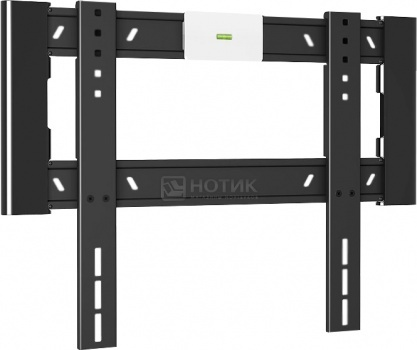 "Кронштейн Holder LCD-F4607-B 32-65"", 400x400, до 40кг, фиксированный, Черный от Нотик"