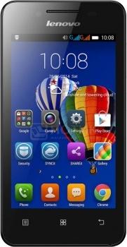 """Смартфон Lenovo A319 White (Android 4.4/MT6572 1300MHz/4.0"""" (800x480)/512Mb/4Gb/ 3G (EDGE, HSDPA, HSUPA)) [P0RQ0014RU] от Нотик"""