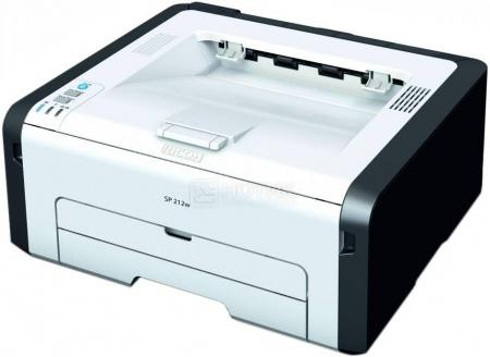 Принтер лазерный монохромный Ricoh SP 210, A4, 22стр/мин, 128Мб, USB, Белый/Черный 407600