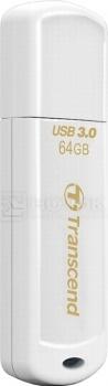 Флешка Transcend 64Gb JetFlash 730 USB 3.0 TS64GJF730, Белый transcend transcend jetflash 730 8гб