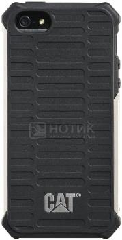 Чехол-накладка CAT Active Urban для iPhone 5/5s, Пластик, Черный CUCA-BLSI-I5S-0A3 от Нотик