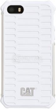 Чехол-накладка CAT Active Urban для iPhone 5/5S/SE, Пластик, Белый CUCA-WHSI-I5S-0A3