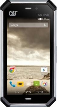 Защищенные смартфоны Cat S50 (Android 4.4/MSM8926 1200MHz/4.7 (720x1280)/2048Mb/8Gb/4G LTE 3G (EDGE, HSDPA, HSUPA)) [S50 black]CAT<br>4.7 MediaTek 1200 МГц 2048 Мб Flash drive 8 Гб Android 4.4 бат. - до 16.0 ч Черный<br>