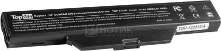 Аккумулятор TopON TOP-6720-14V 14.4V 4800mAh для HP Compaq Business Notebook 6830s Series аккумулятор topon top clev2200 4800mah for clevo 2200 2700с 2800t iru intro 1214 roverbook b410 b415 kt5 kt6 series