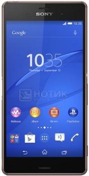 "Защищенные смартфоны Sony Xperia Z3 Dual Copper (Android 4.4/MSM8974AC 2500MHz/5.2"" (1920x1080)/3072Mb/16Gb/4G LTE 3G (EDGE, HSDPA, HSUPA)) [1288-9792] от Нотик"