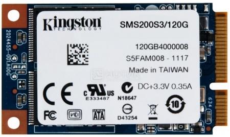 Внутренний SSD-накопитель Kingston SSDNow mS200 SMS200S3/120G m-SATA 120Gb