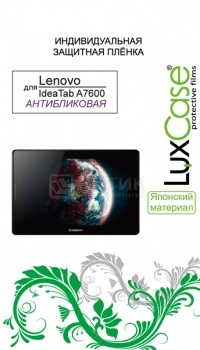 Защитная пленка LuxCase для Lenovo A7600, Антибликовая