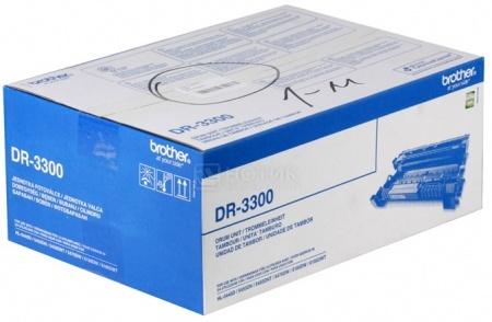 Фотобарабан Brother DR-3300 для HL-5440D 5450DN 5470DW 6180DW DCP-8110DN 8250DN MFC-8520DN 8950DW 30000c Черный DR3300