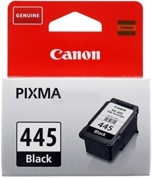 Картридж Canon PG-445 для Pixma iP2840 MG2440 MG2545 MG2540 MG2940 180с Черный 8283B001 от Нотик