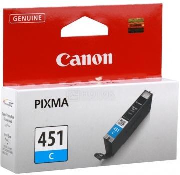 Картридж Canon CLI-451C для MG6340 MG5440 IP7240 332с Голубой 6524B001