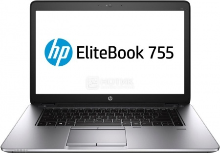 Ультрабук HP EliteBook 755 (15.6 IPS (LED)/ A10-Series A10 Pro-7350B 2100MHz/ 8192Mb/ SSD 256Gb/ AMD Radeon R6 series 512Mb) MS Windows 8.1 Professional (64-bit) [F1Q27EA]