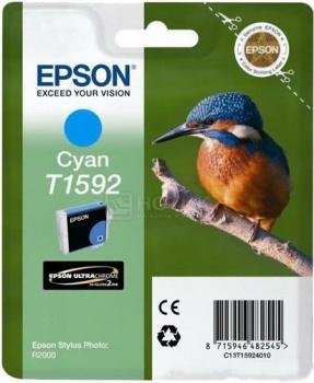 Чернила Epson T1592 для Stylus Photo R2000, Голубой C13T15924010
