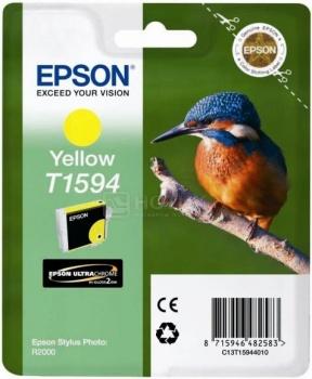Чернила Epson T1594 для Stylus Photo R2000, Желтый C13T15944010