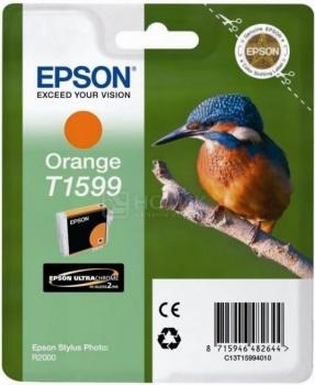 Чернила Epson T1599 для Stylus Photo R2000, Оранжевый C13T15994010
