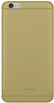 Чехол-накладка для iPhone 6 Plus Deppa Sky Case, Полипропилен, Золотистый
