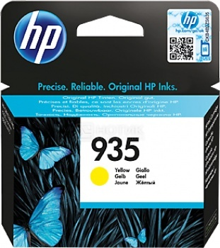 Картридж HP 935 для Officejet Pro 6830 400стр, Желтый C2P22AE