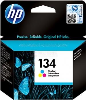 Картридж HP 134 для DJ5743 6543 6843 OJ6213 7313 7413 PS2613 2713 8153 8453 560стр Цветной C9363HE