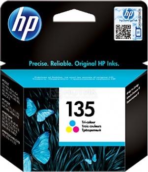 Картридж HP 135 для DJ5743 65436 843 OJ6213 7313 7413 PS2613 2713 8153 8453 260стр Цветной C8766HE