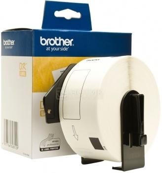 Наклейки адресные большие Brother DK11208, 38 x 90 мм, 400шт