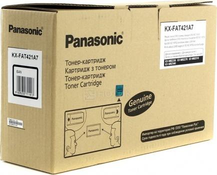 Картридж Panasonic KX-FAT421A для KX-MB2230/2270/2510/2540 2000стр, Черный KX-FAT421A7