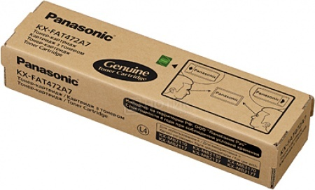 Картридж Panasonic KX-FAT472A7 для KX-MB2110/2130/2170 2000стр, Черный