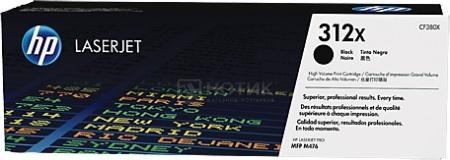 Картридж HP 312X для LaserJet Pro M476 4400стр, Черный CF380X