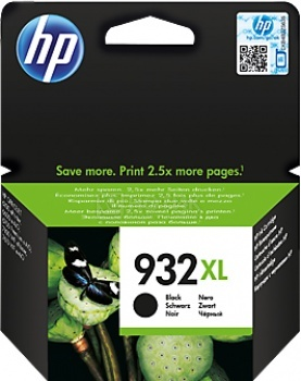 Картридж HP 932XL для Officejet 6100/6700/7110/7612 1000стр, Черный CN053AE