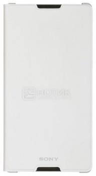 Чехол Sony SCR15 для Xperia C3, Полиуретан, Белый от Нотик